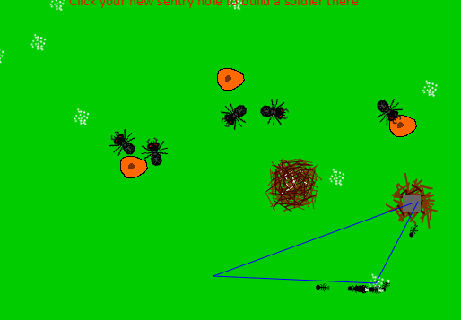 Screen shot of the Buggy Game